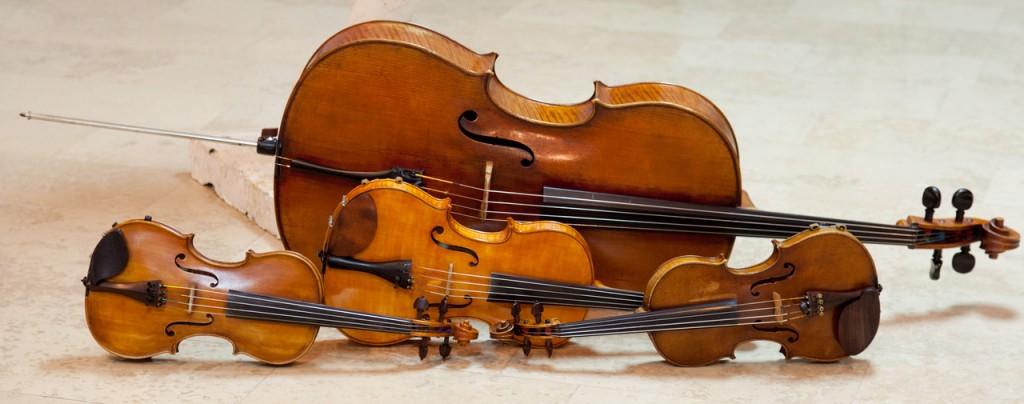 String quartet instruments